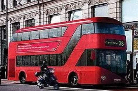 Londone – atnaujinti autobusai