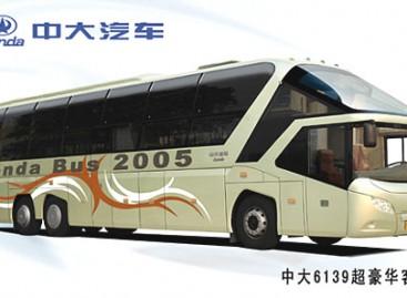 Kaip dega ir sprogsta kiniški autobusai (video)