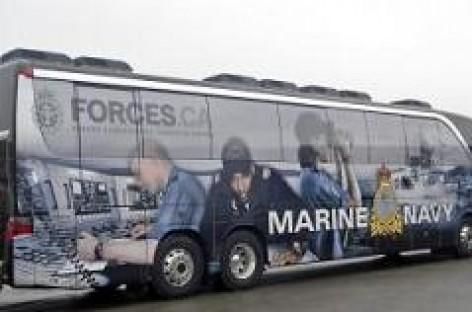 """""""Setra TopClass S 417"""" – Kanados kariniam jūrų laivynui"""