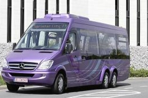 "Hanoveryje debiutavo ""Mercedes-Benz Sprinter City 77"""