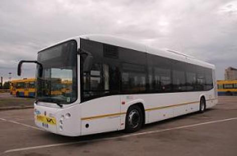Autobusą vilniečiams išbandyti siūlo italai