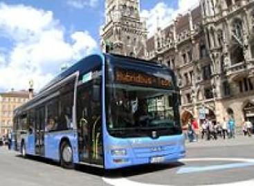MAN pristatė naują hibridinį autobusą