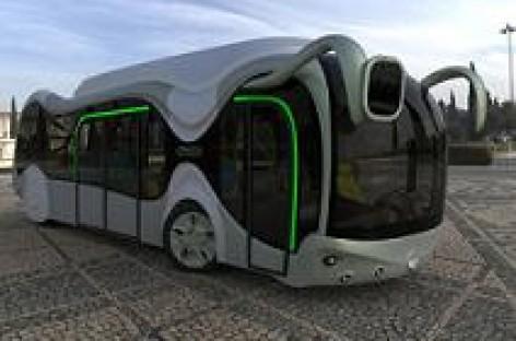 """""""Credo E-Bone"""" – ateities autobuso modelis"""