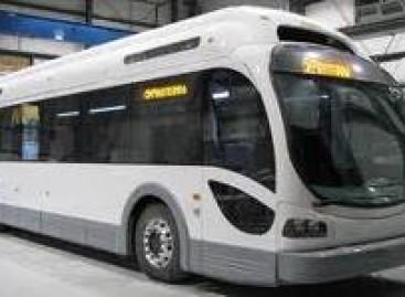 """Elektrobusas """"Proterra EcoRide B25"""" pakraunamas per dešimt minučių"""