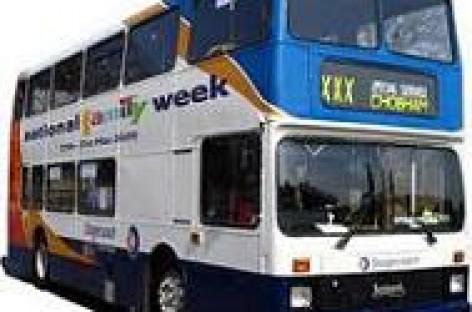 Didžiojoje Britanijoje – augaliniu aliejumi varomas autobusas