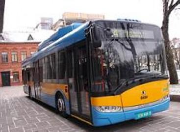 """Vilniečiai važinės  """"Solaris Urbino CNG"""""""