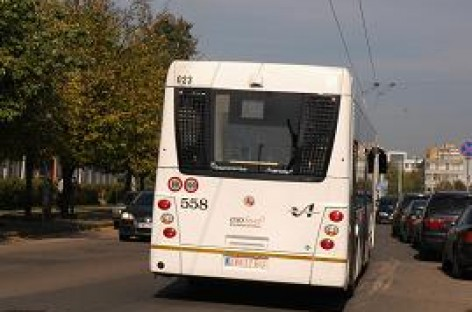 Aiškėja, kokiais autobusais bei troleibusais važinėsime sostinėje
