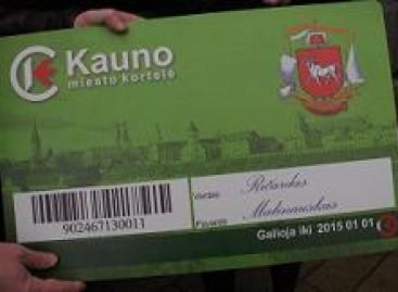 Kaune popierinius bilietus netrukus pakeis elektroniniai