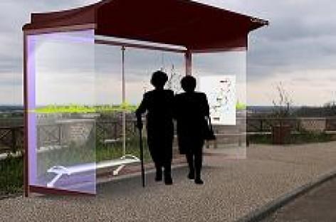 Autobusų stotelėms – saulės energija