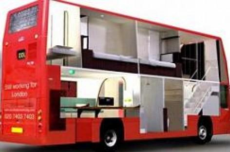 Namai – dviaukščiame autobuse