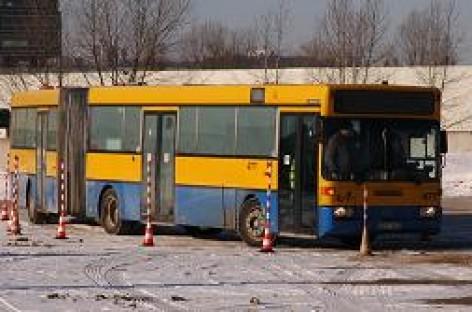 Šalčiai trikdo viešojo transporto darbą