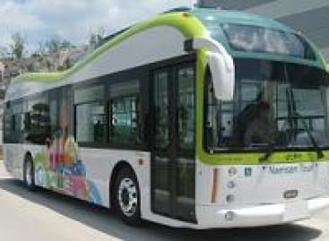 Pietų Korėjoje – elektriniai autobusai