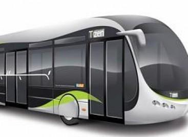 Paryžiaus gatvėse – futuristiniai autobusai