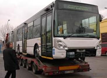 """Klaipėdiečiai važinės """"Irisbus"""" autobusais"""