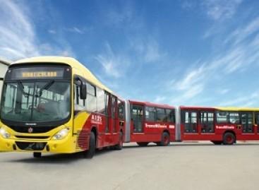 """""""Sumuštas"""" autobuso ilgio rekordas"""