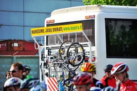 Dviračiai autobusuose: kompromisų beieškant