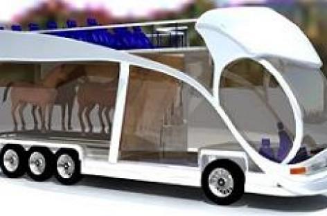 Tikrų arklių varomi autobusai