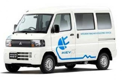 Mitsubishi Minicab MiEV:  150 kilometrų be įkrovimo
