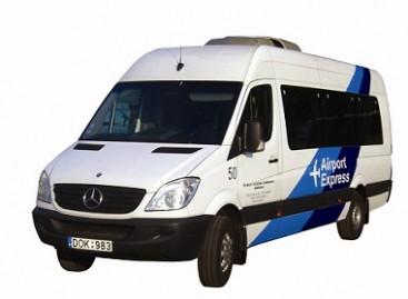 Sostinėje – specialus mikroautobusas iš autobusų stoties į oro uostą