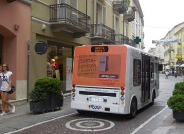 Italijoje – pirmasis elektrinis autobusas