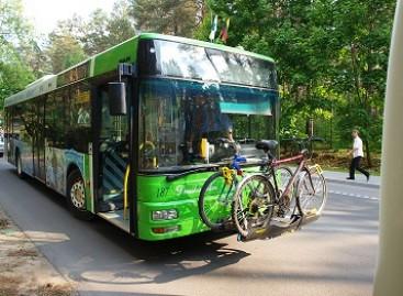Druskininkų autobusai pritaikyti dviračiams vežti