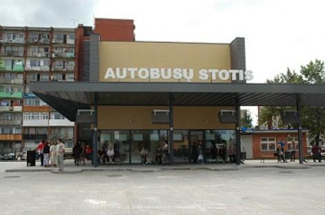 Tauragės autobusų stotis – jau atidaryta