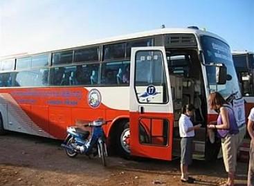 Tailande padaugėjo vagysčių iš turistinių autobusų