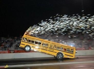Greičiausio pasaulyje autobuso avarija