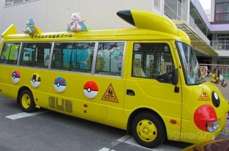 Neįprasti mokykliniai autobusai