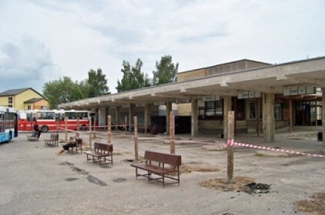 Atnaujinama Jonavos autobusų stotis