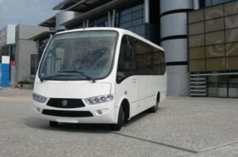 """NEFAZ ir """"Marcopolo"""" pristatys bendrą autobusą"""