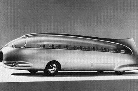 Auksinis delfinas – ateities autobusas iš praeities