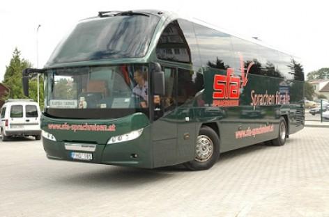 Atsinaujino Tauragės autobusų parkas