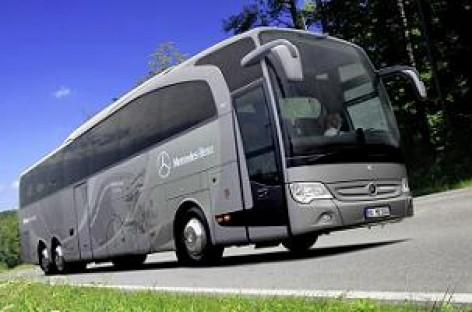"""""""Daimler"""" pristatys pirmąjį Euro 6 standartus atitinkantį autobusą"""