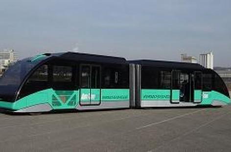 Vokietijoje išrastas autobuso ir tramvajaus hibridas
