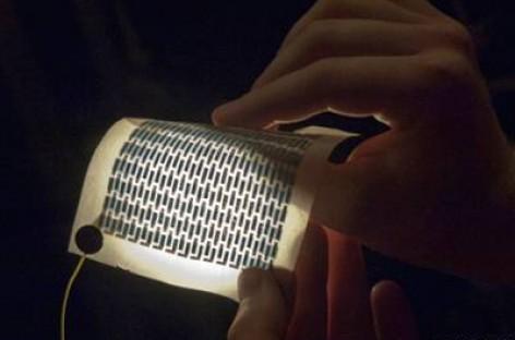 Saulės baterijos… spausdintuvu