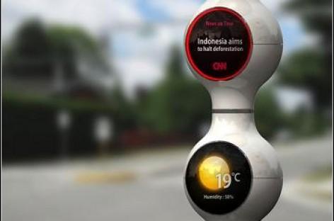 """""""Droplet Traffic Light"""" – išmanusis šviesoforas"""