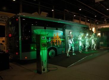 Ženevoje važinės troleibusai be kontaktinių laidų