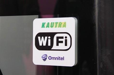 """""""Kautros"""" tarpmiestinių autobusų keleiviai gali naudotis nemokamu bevieliu interneto ryšiu"""