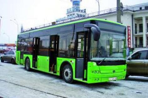 Ukrainoje – ekologiški autobusai