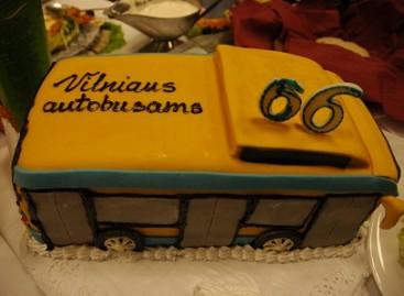 Vilniaus autobusams – 66