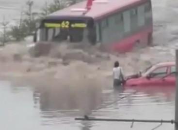 Neskęstantis autobusas