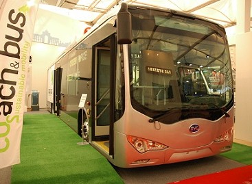 Kinai elektrinius autobusus gamins Europoje