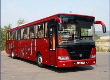 """GAZ pristatė """"olimpinius"""" autobusus"""