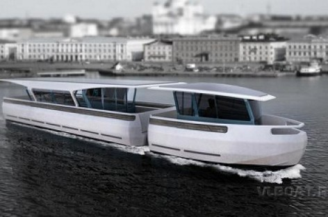 Helsinkyje – vandens autobusai