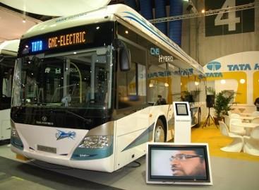 TATA sukūrė vandenilinį variklį autobusui