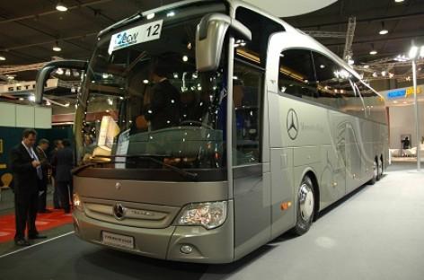 """Kortrijke """"Mercedes-Benz"""" pristatė Euro 6 reikalavimus atitinkantį autobusą"""