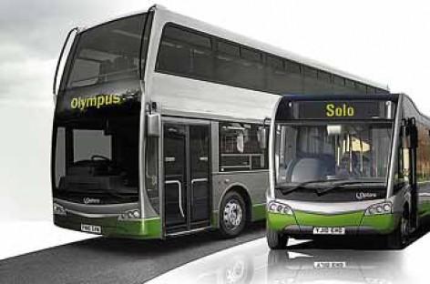 """""""Optare"""" išbando """"olimpinius"""" dviaukščius autobusus"""