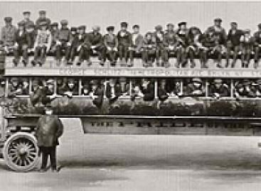 Didžiausias pasaulyje autobusas – iš XX a. pradžios