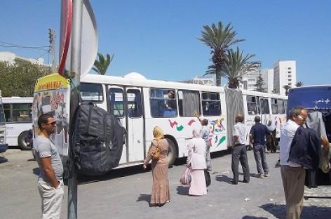 Tuniso miestai – be mikroautobusų